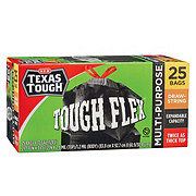H-E-B Texas Tough Multi-Purpose Tough Flex 33 Gallon Trash Bags