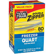 H-E-B Texas Tough Quart Freezer Bags Value Pack