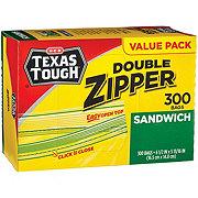 H-E-B Texas Tough Sandwich Bags Value Pack