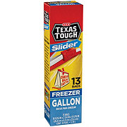 H-E-B Texas Tough Slider Gallon Freezer Bags