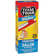 H-E-B Texas Tough Slider Gallon Size Freezer Bags