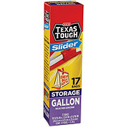 H-E-B Texas Tough Slider Gallon Size Storage Bags