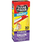 H-E-B Texas Tough Slider Gallon Storage Bags