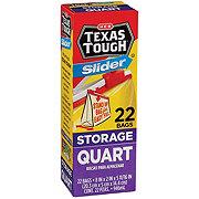 H-E-B Texas Tough Slider Quart Storage Bags