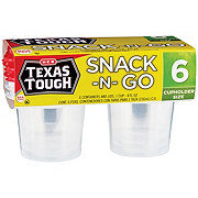 H-E-B Texas Tough Snack-N-Go 8 oz Food Storage Containers