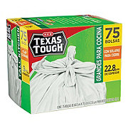 H-E-B Texas Tough Tall Kitchen Flap Closure Trash Bags