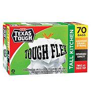 H-E-B Texas Tough Tough Flex Gripping Drawstring Tall Kitchen 13 Gallon Trash Bags