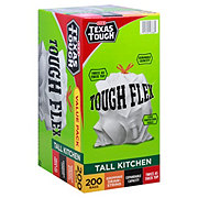 H-E-B Texas Tough Tough Flex Gripping Drawstring Tall Kitchen 13 Gallon Trash Bags Value Pack