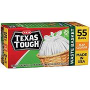 H-E-B Texas Tough Twist Tie Waste Basket 4 Gallon Trash Bags