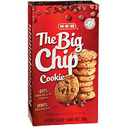 H-E-B The Big Chip Chocolate Chip Cookies