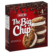 H-E-B The Big Chip Ice Cream Cookie Sandwich