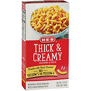 H-E-B Thick and Creamy Macaroni and Cheese