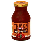 H-E-B Thick 'n Chunky Medium Salsa