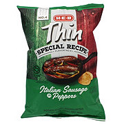 H-E-B Thin Special Recipe Italian Sausage & Peppers Chips