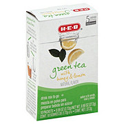 H-E-B To Go Green Tea With Honey and Lemon Drink Mix
