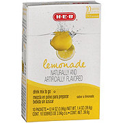 H-E-B To Go Lemonade Drink Mix