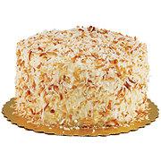 H-E-B Toasted Coconut Cake