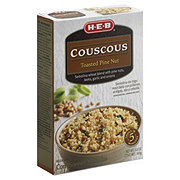 H-E-B Toasted Pine Nut Couscous