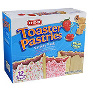 H-E-B Toaster Pastries Variety Value Pack