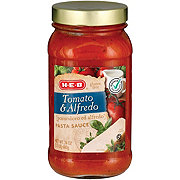 H-E-B Tomato & Alfredo Pasta Sauce