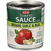 H-E-B Tomato Sauce with Oregano Garlic and Basil