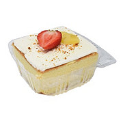 H-E-B Tres Leches Cake with Two Fruits