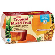 H-E-B Tropical Fruit In Light Syrup