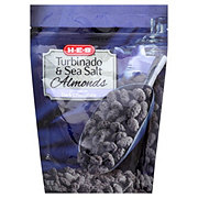 H-E-B Turbinado & Sea Salt Almonds Covered In Dark Chocolate