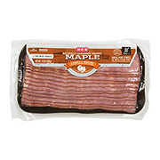 H-E-B Turkey Hardwood Smoked Maple Bacon
