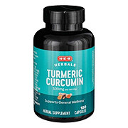H-E-B Turmeric Curcumin 500 mg Capsules