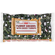H-E-B Turnip Greens with Diced Turnips