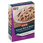 H-E-B Tuscan Rice and Beans Dinner Kit