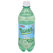 H-E-B Twist 35 Calorie Pure Cane Sugar Soda