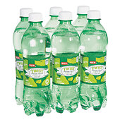H-E-B Twist Lemon Lime Soda 16.9 oz Bottles