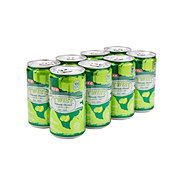 H-E-B Twist Lemon Lime Soda 7.5 oz Cans