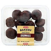 H-E-B Two Bite Brownie Bites