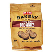 H-E-B Two-Bite Brownies Snack Pack