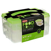 H-E-B Two Layer Egg Container