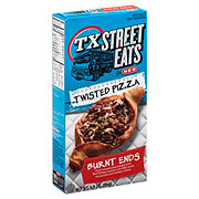 H-E-B TX Street Eats BBQ Brisket Burnt Ends Twisted Pizza