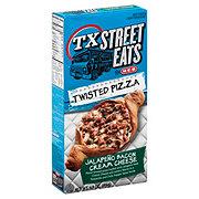 H-E-B TX Street Eats Jalapeno Bacon Cream Cheese Twisted Pizza
