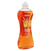 H-E-B Ultra Concentrated Texas Pumpkin Harvest Scent Dish Soap