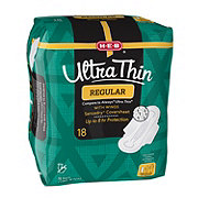 H-E-B Ultra Thin Regular Pads with Wings