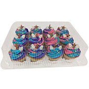 H-E-B Unicorn Cupcakes