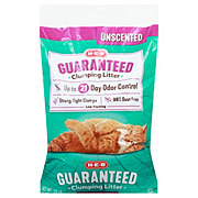 H-E-B Unscented Guaranteed Clumping Litter