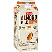 H-E-B Unsweet Original Almond Milk