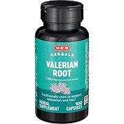 H-E-B Valerian Root 450 mg Capsules