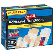H-E-B Variety Pack Bandages, Assorted Sizes