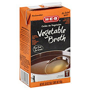 H-E-B Vegetable Broth