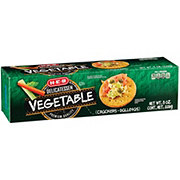 H-E-B Vegetable Entertainer Crackers