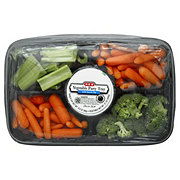 H-E-B Vegetable Party Tray with Ranch Dip